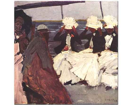 Georg Hendrik Breitner Üç Kadınla Birlikte