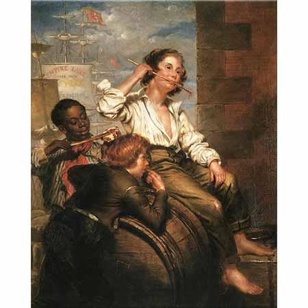 George Henry Hall Tatlı Çalan Çocuklar