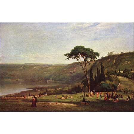 George Inness Albaner Denizi
