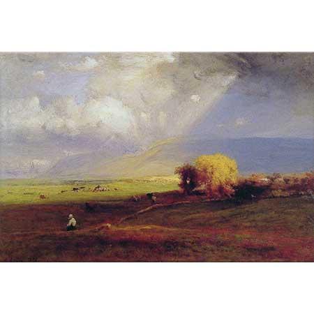George Inness Geçen Bulutlar