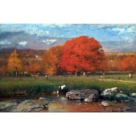 George Inness Sabah Catskill Vadisi