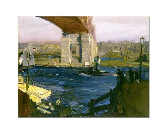 George Wesley Bellows Blackwell Adası Köprüsü