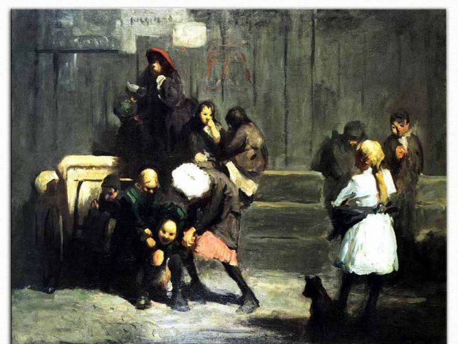 George Wesley Bellows Çocuklar