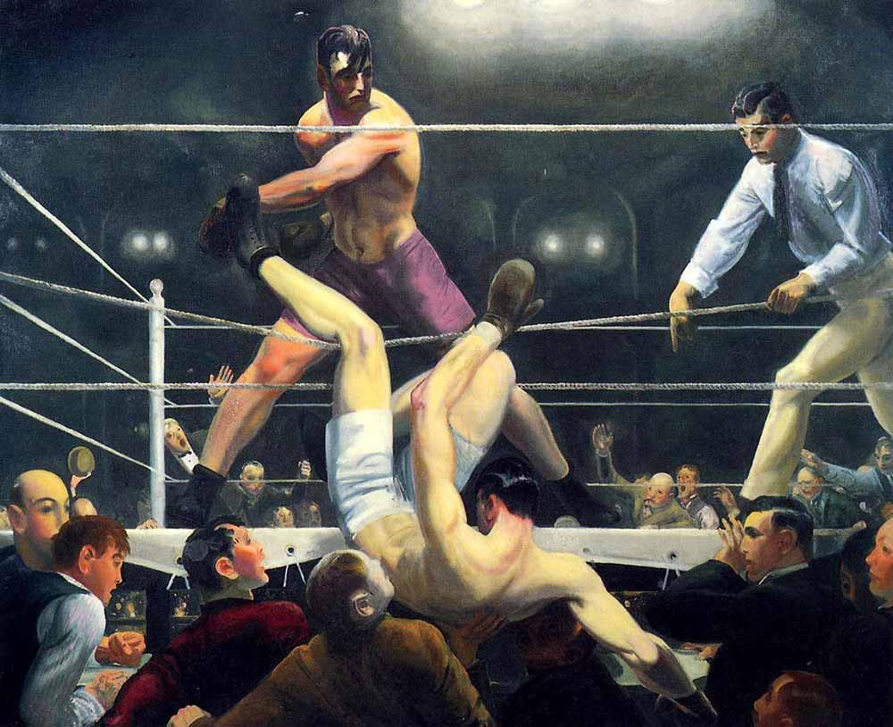 George Wesley Bellows Dempsey ve Firpo Kardeşler Rövanşta