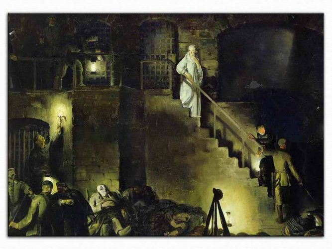 George Wesley Bellows Edith Cavell