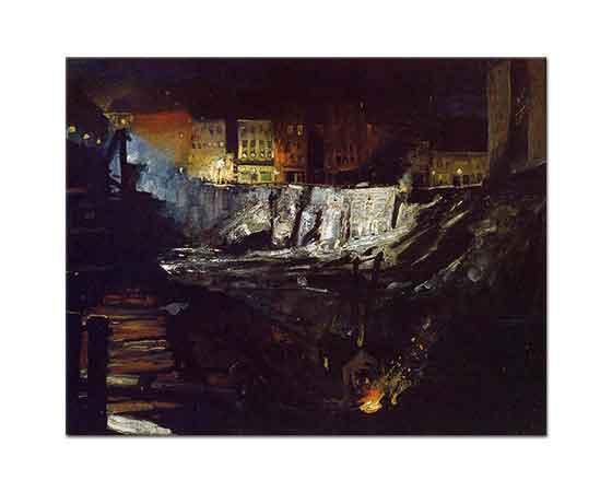 George Wesley Bellows Gece Hafriyatı