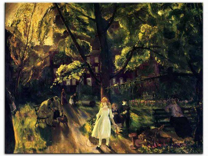 George Wesley Bellows Gramercy Parkı