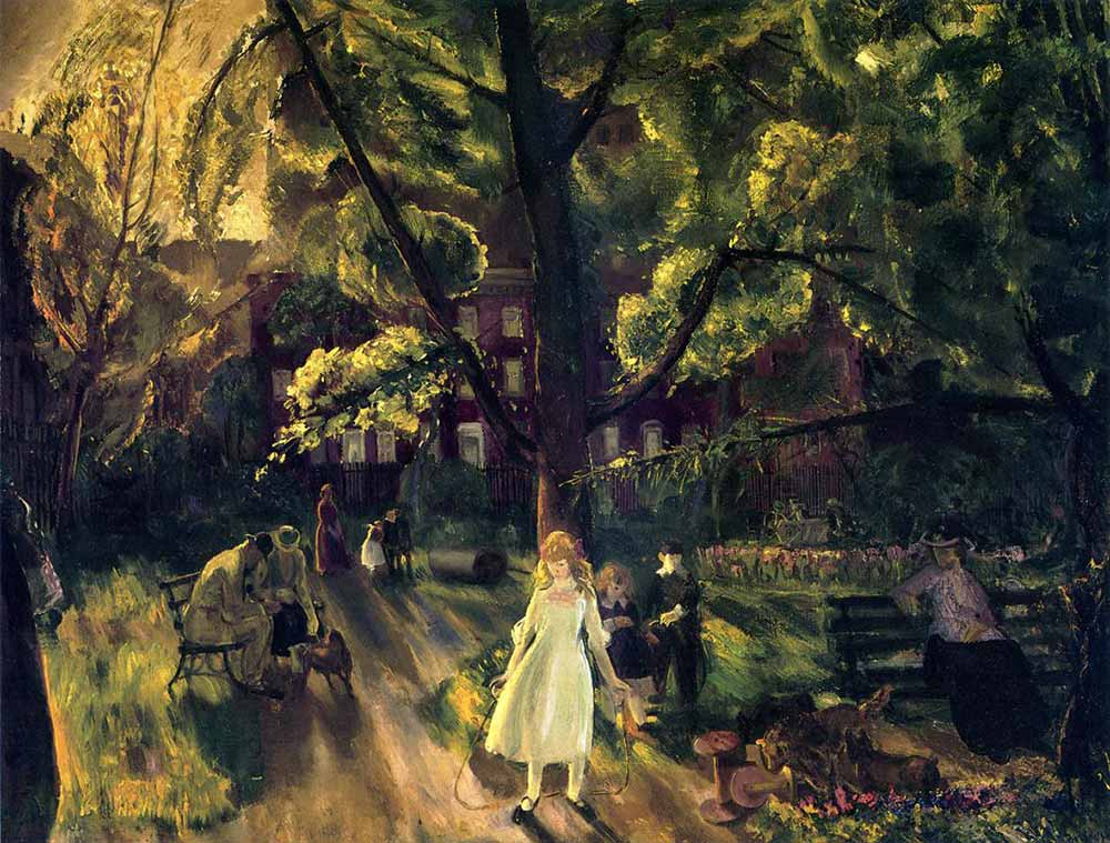 George Wesley Bellows Gramercy Parkı