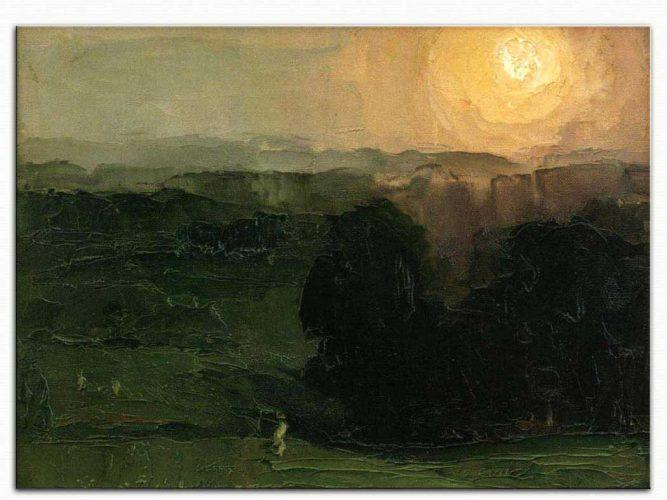 George Wesley Bellows Günbatımı