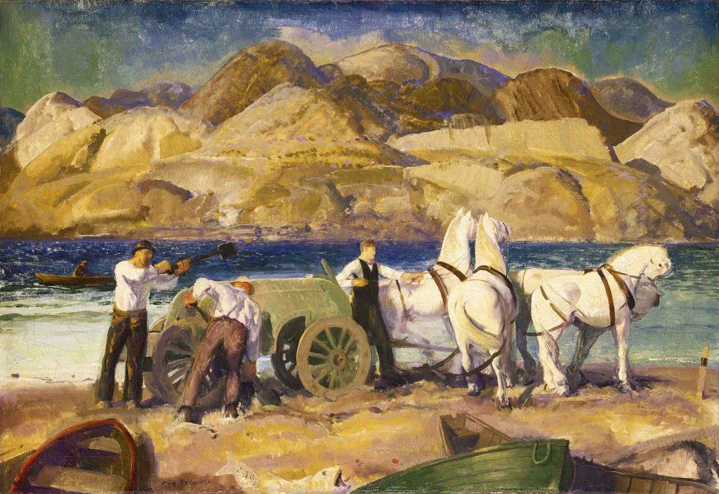George Wesley Bellows Kum Arabası