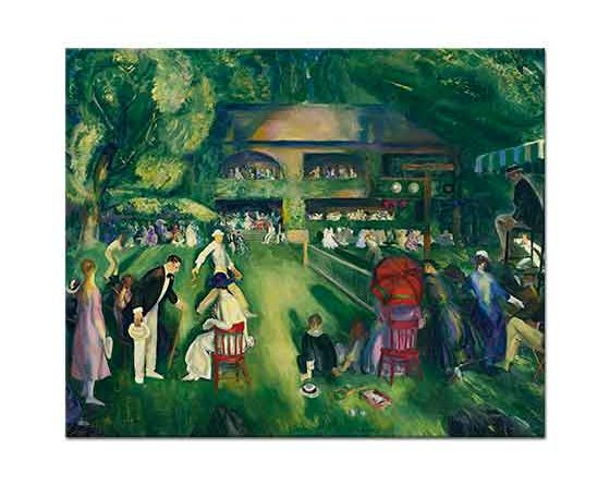 George Wesley Bellows Newportda Tenis