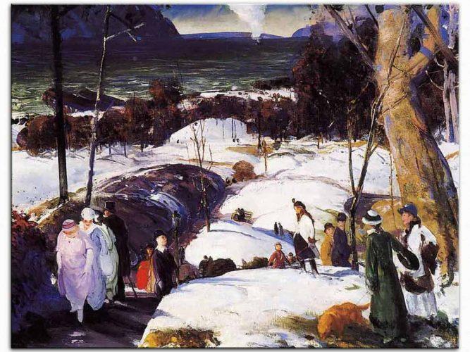 George Wesley Bellows Paskalya Örtüsü