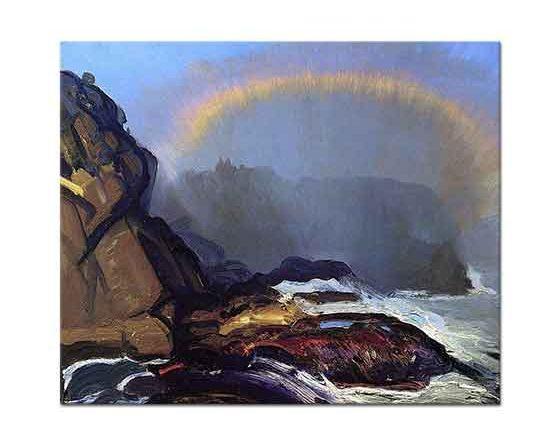George Wesley Bellows Puslu Gökkuşağı