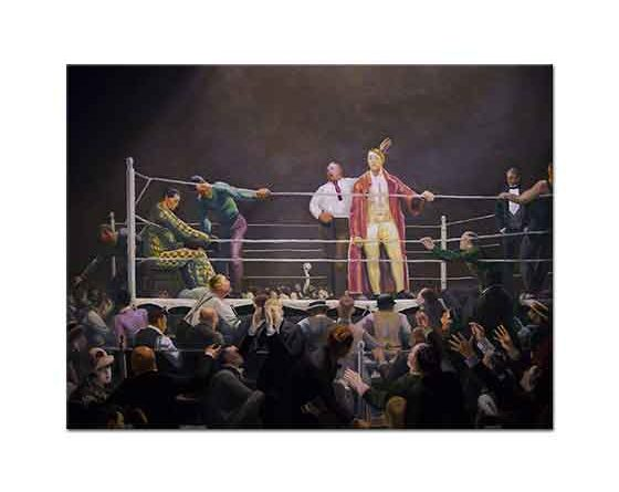 George Wesley Bellows Ring Etrafı