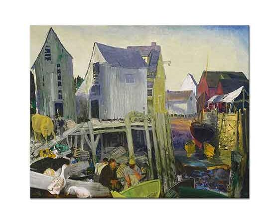 George Wesley Bellows Şehirden Matinicus
