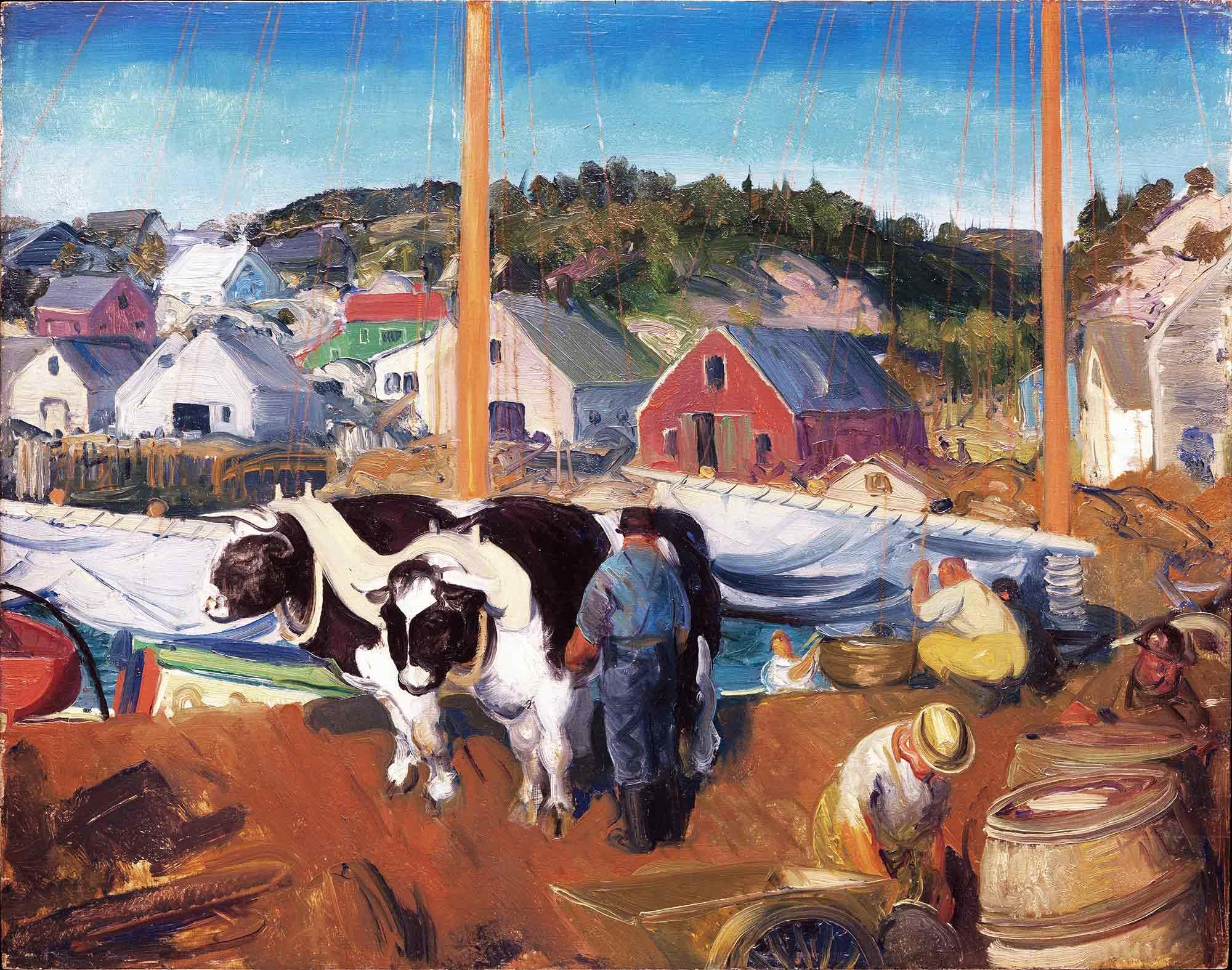 George Wesley Bellows Sığır Takımı
