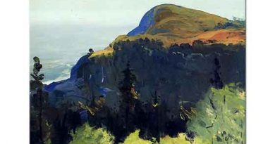 George Wesley Bellows Tepe ve Vadi