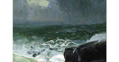 George Wesley Bellows Yaklaşan Yağmur