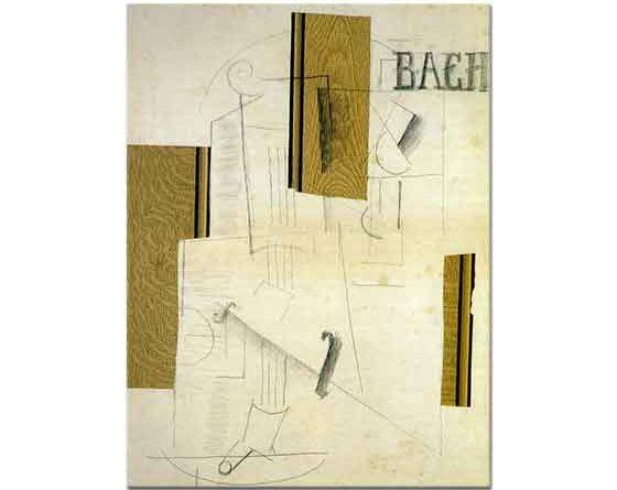 Georges Braque Bach Natürmort