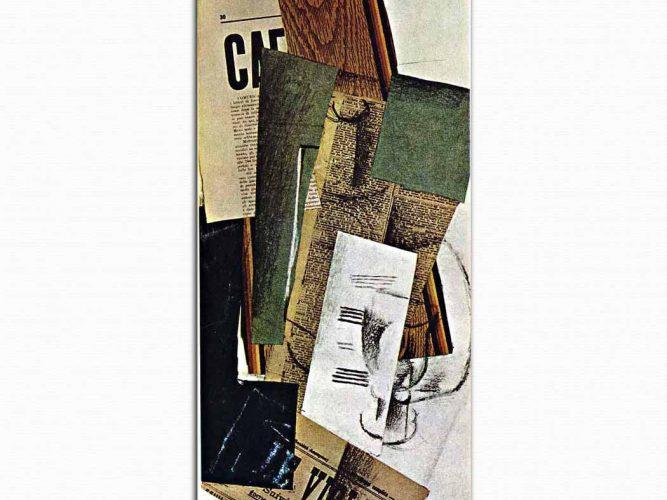 Georges Braque Bardak Karaf ve Gazete