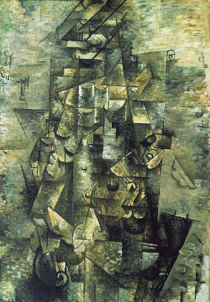 Georges Braque Gitarlı Adam