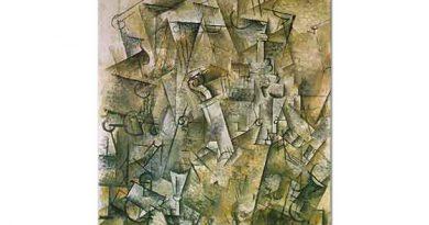 Georges Braque Harp ve Keman Natürmort