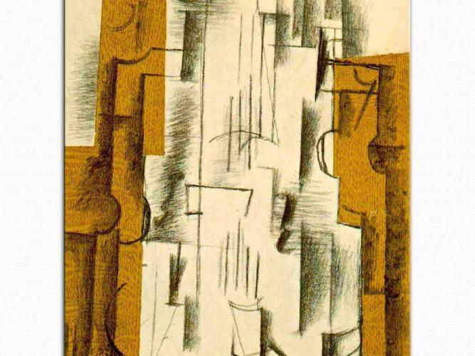Georges Braque Keman Natürmort