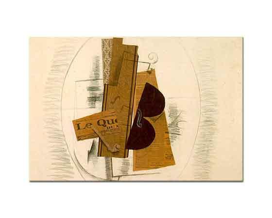 Georges Braque Keman ve Pipo
