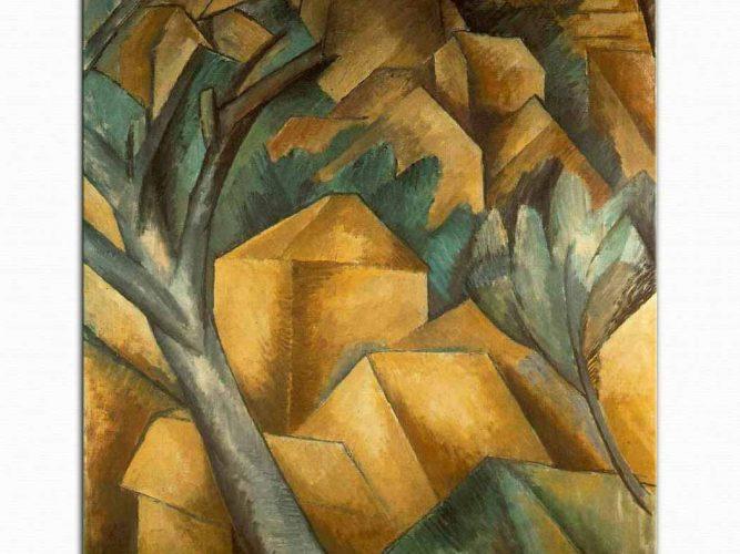 Georges Braque L'Estaque'de Evler