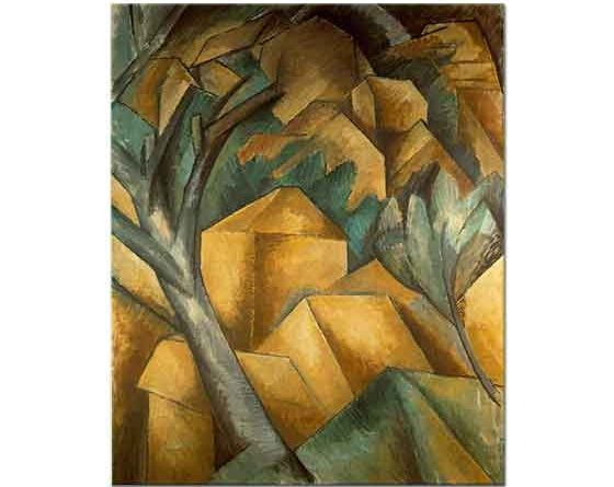 Georges Braque L'Estaque'de Evler
