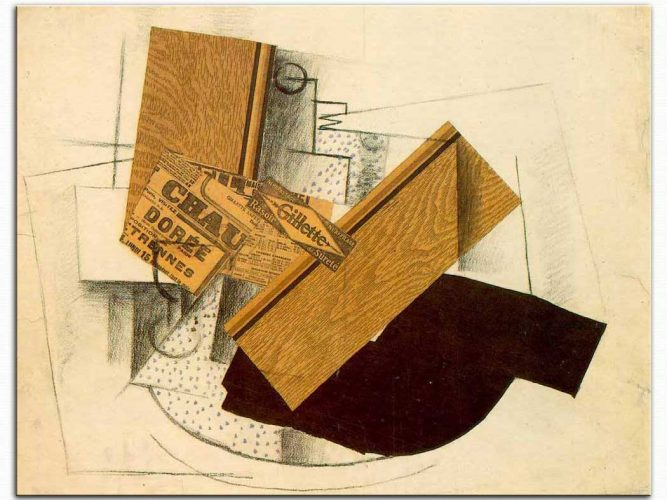 Georges Braque Masada Jilet Natürmort