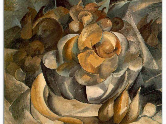 Georges Braque Meyve Tabağı