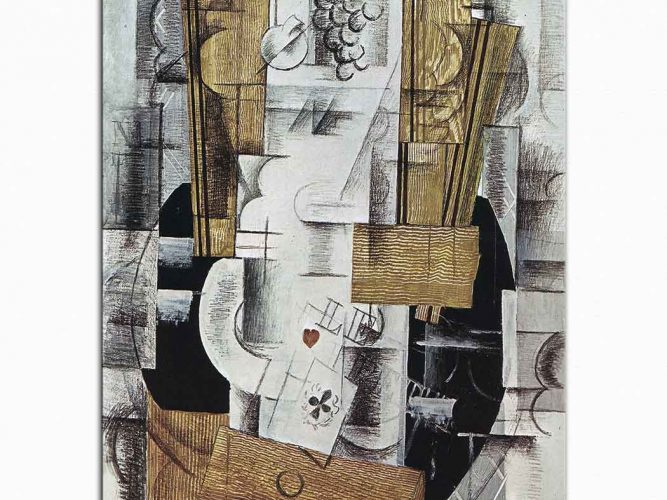 Georges Braque Meyve Tabağı Klübün Ası