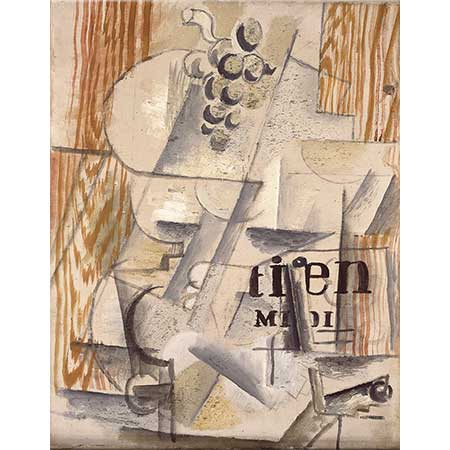 Georges Braque Meyve Tabağı Quotidien du Midi