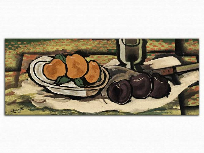 Georges Braque Meyveli Natürmort