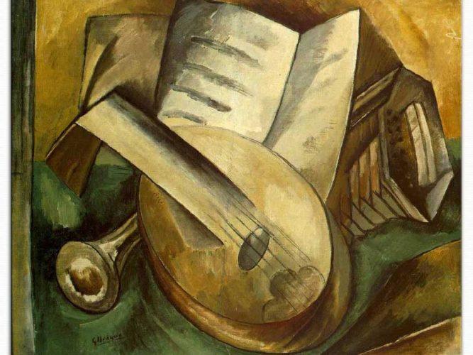Georges Braque Müzik Aletleri