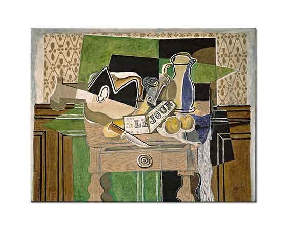 Georges Braque Natürmort Le Jour