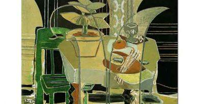 Georges Braque Paletli iç Mekan