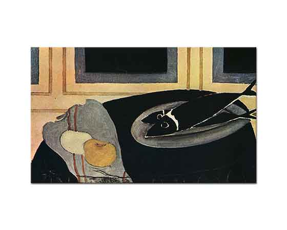 Georges Braque Siyah Balık