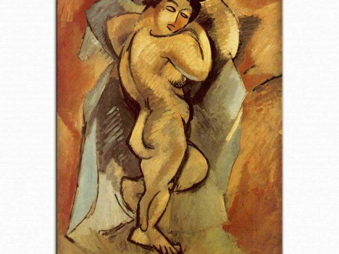 Georges Braque Uzun Çıplak