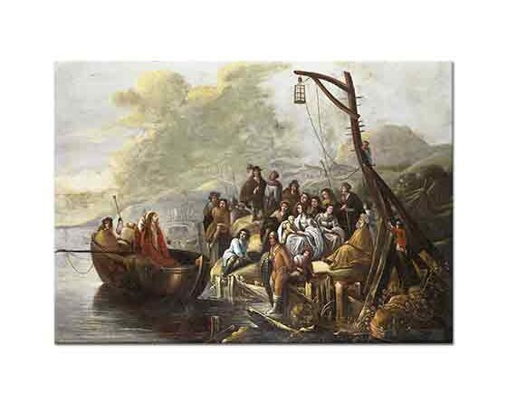 Gerbrand van den Eeckhout Hz Isa Celile Denizinde Vaaz Verirken