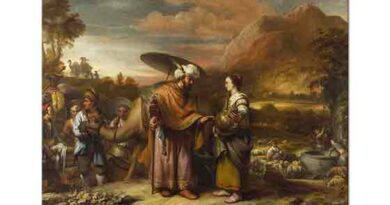 Gerbrand van den Eeckhout Rebeka ve Eliezer kuyu başında