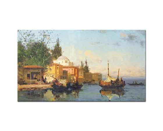 Germain Fabius Brest Boğazda Tekneler