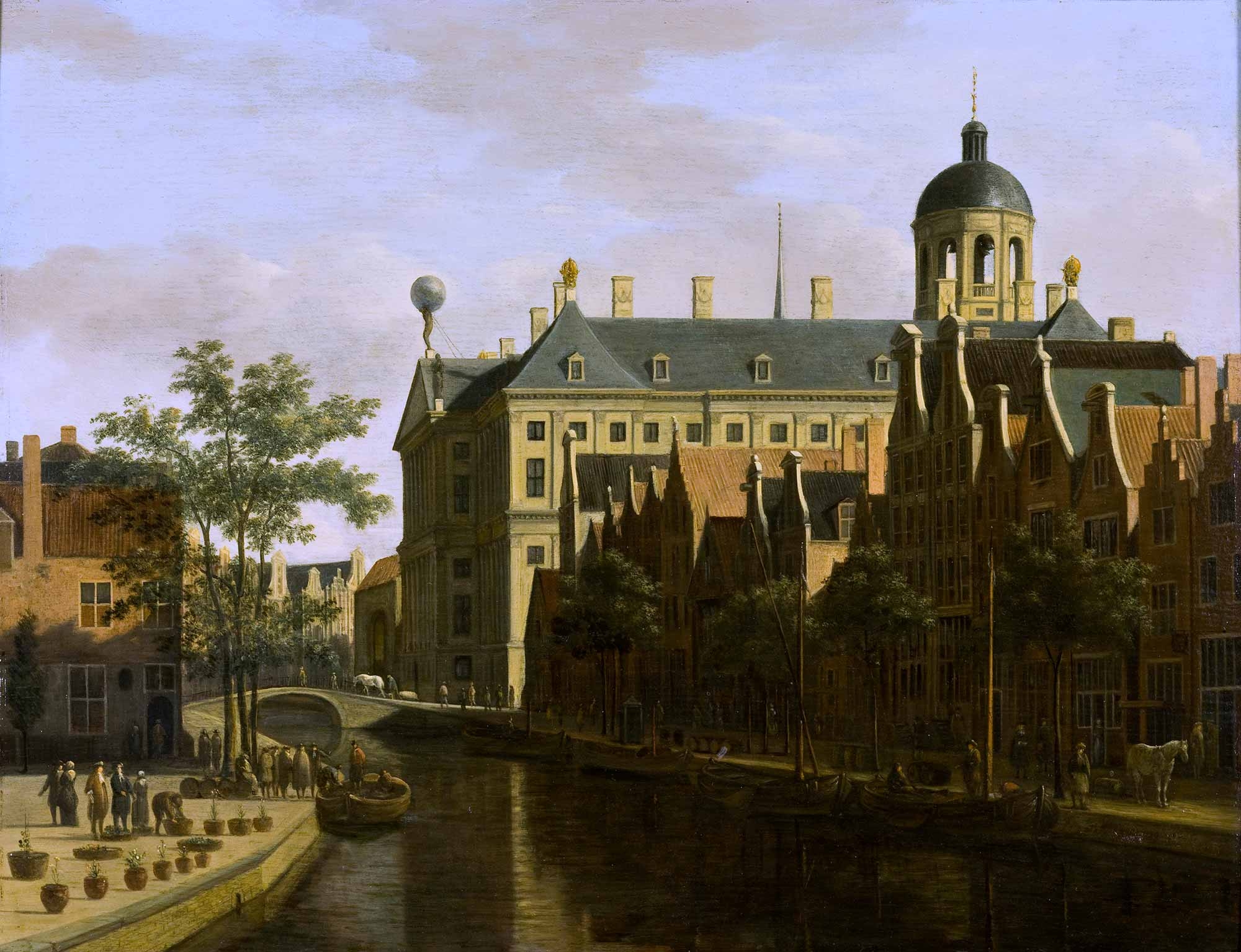 Gerrit Adriaensz Berckheyde Amsterdam Manzarası