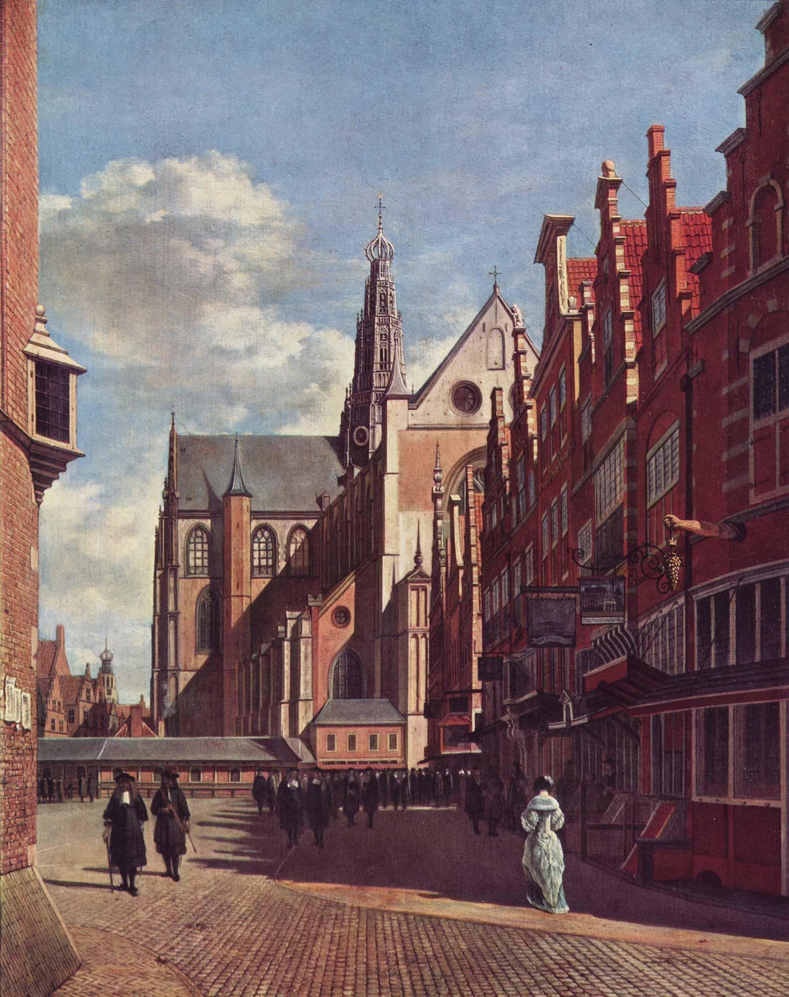 Gerrit Adriaensz Berckheyde Haarlem Geniş Meydan