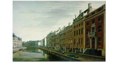 Gerrit Adriaensz Berckheyde Nehir Kıyısı ve Spiegel Caddesi
