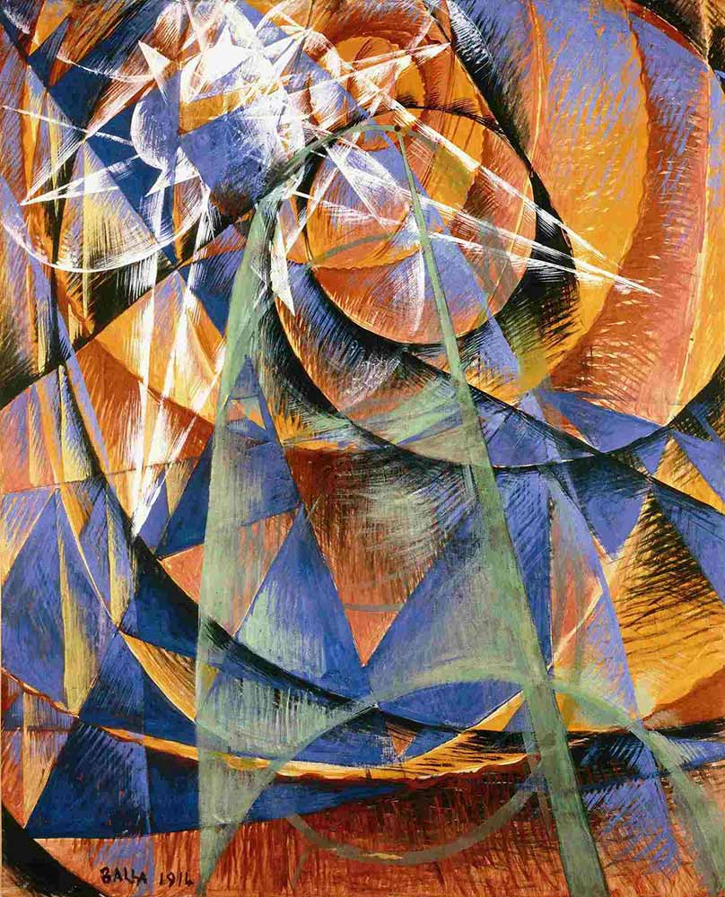 Giacomo Balla Merkür ve Güneş
