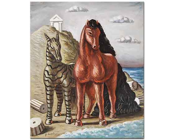 Giorgio de Chirico At ve Zebra