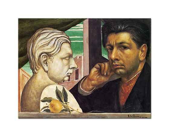Giorgio de Chirico Kendi Portresi
