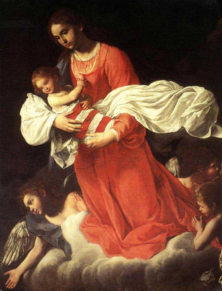 Giovanni Baglione Virgin ve Çocukları Meleklerle